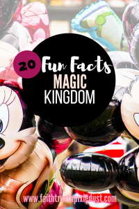 Magic Kingdom - 20 Fun Facts