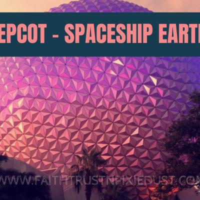 Disney World – Epcot – Spaceship Earth!