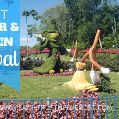 Disney World Epcot Flower and Garden Festival 2019