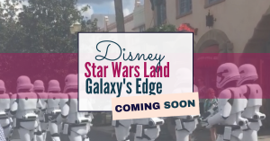 Disney - star wars land - galaxy's edge