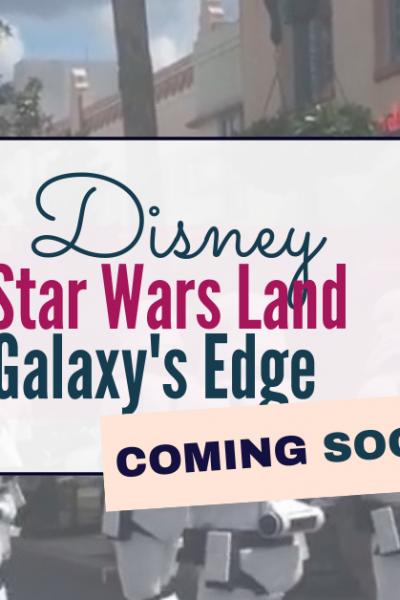 Disney - star wars land - galaxy's edge