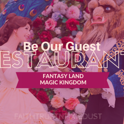 Be Our Guest – B.O.G – Restaurant – Magic Kingdom
