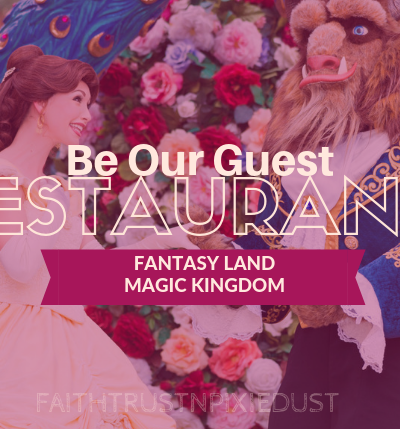 Be Our Guest Restaurant Magic Kingdom
