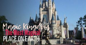 Magic Kingdom he most magical place on earth