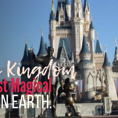 Magic Kingdom – The Most Magical Place on Earth.