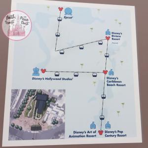 Disney skyliner map