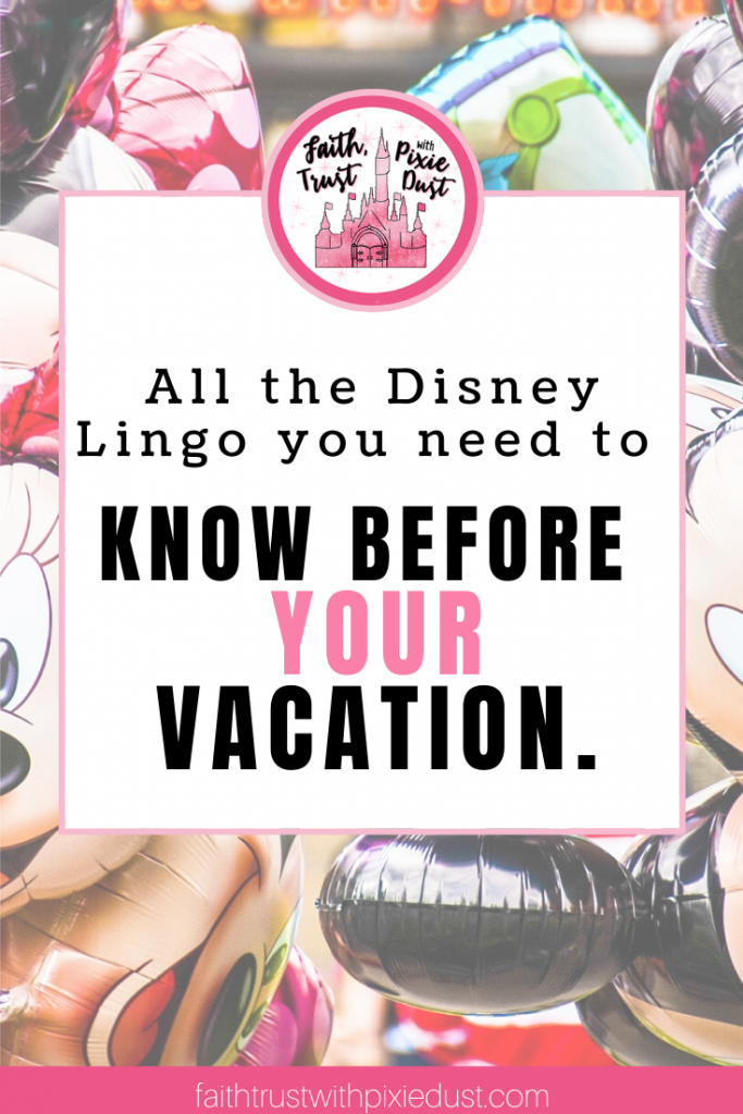 Disney Lingo - all you need to know