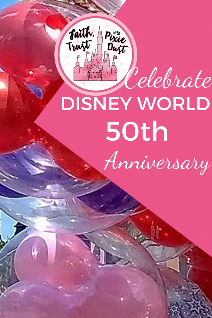 50TH Anniversary Celebrations at Disney World