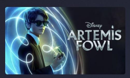 Disney Plus Artemis Fowl – New Movie Release.