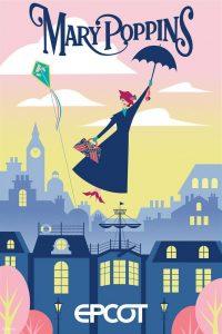 Mary Poppins Cherry Tree Lane - Epcot