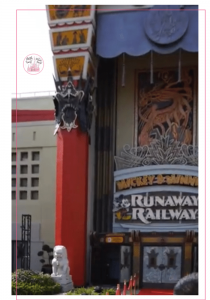 Hollywood Studios RunAway Railroad
