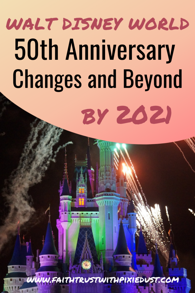 Celebrate 50 years at Walt Disney World Orlando