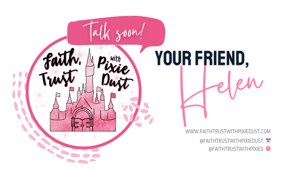 Faith Trust With Pixie Dust Signature