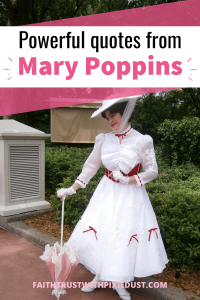Powerful quotes from Mary Poppins